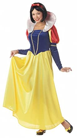 California Costumes Women's Snow White,Blue/Yellow, Small Costume