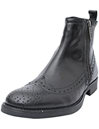 Salt N Pepper 16-392 Ray Mens Black Leather Boots