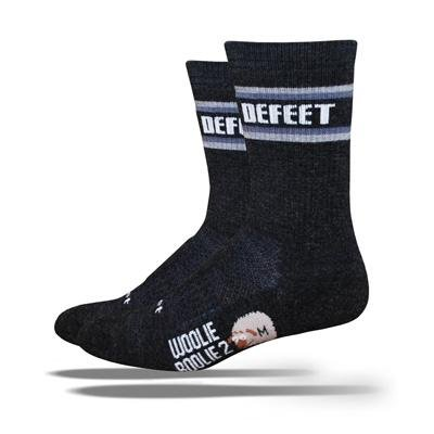 Buy Low Price DeFeet Men's Woolie Boolie All Mountain 6-Inch Sock (WB2AMC6101-P)