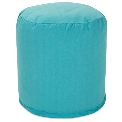 Majestic home goods pouf small teal furniture outdoor for Small teal chair