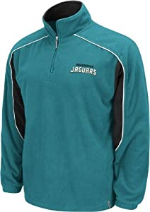 Jacksonville Jaguars Reebok Final Score 1 4 Zip Polar Fleece by Reebok