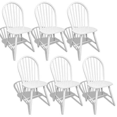Anself-6er-Set-Esszimmerstuhl-Stuhlgruppe-aus-Holz-465cmx52cmx94cm-Rund-Wei