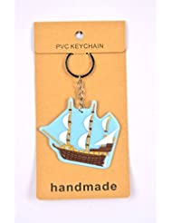 Sailing Ship Key Chain Pack Of 2
