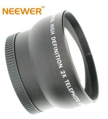 52mm TELEPHOTO Lens ~Including Lens Bag!~ Fits all 52MM Lenses. Including NIKON!