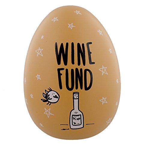 "Eggcellent Grand Nid Oeuf Argent Pot Fonds-Pêche «vin """