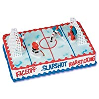 Hockey Cake Topper Set