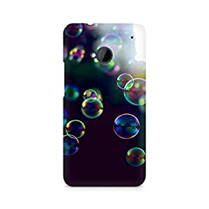 Mobicture Bubbles Printed Phone Case for HTC One M7
