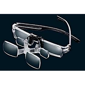 Max TV Clip On Magnifying Glasses