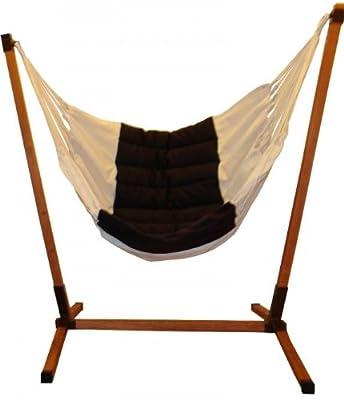 Lola Panorama Woodstand ohne Hängesessel von Lola Hängematten bei Gartenmöbel von Du und Dein Garten