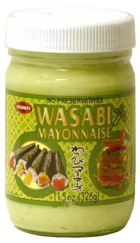 Just like the Wasabi Mayo jar in RantWoman's Fridge.