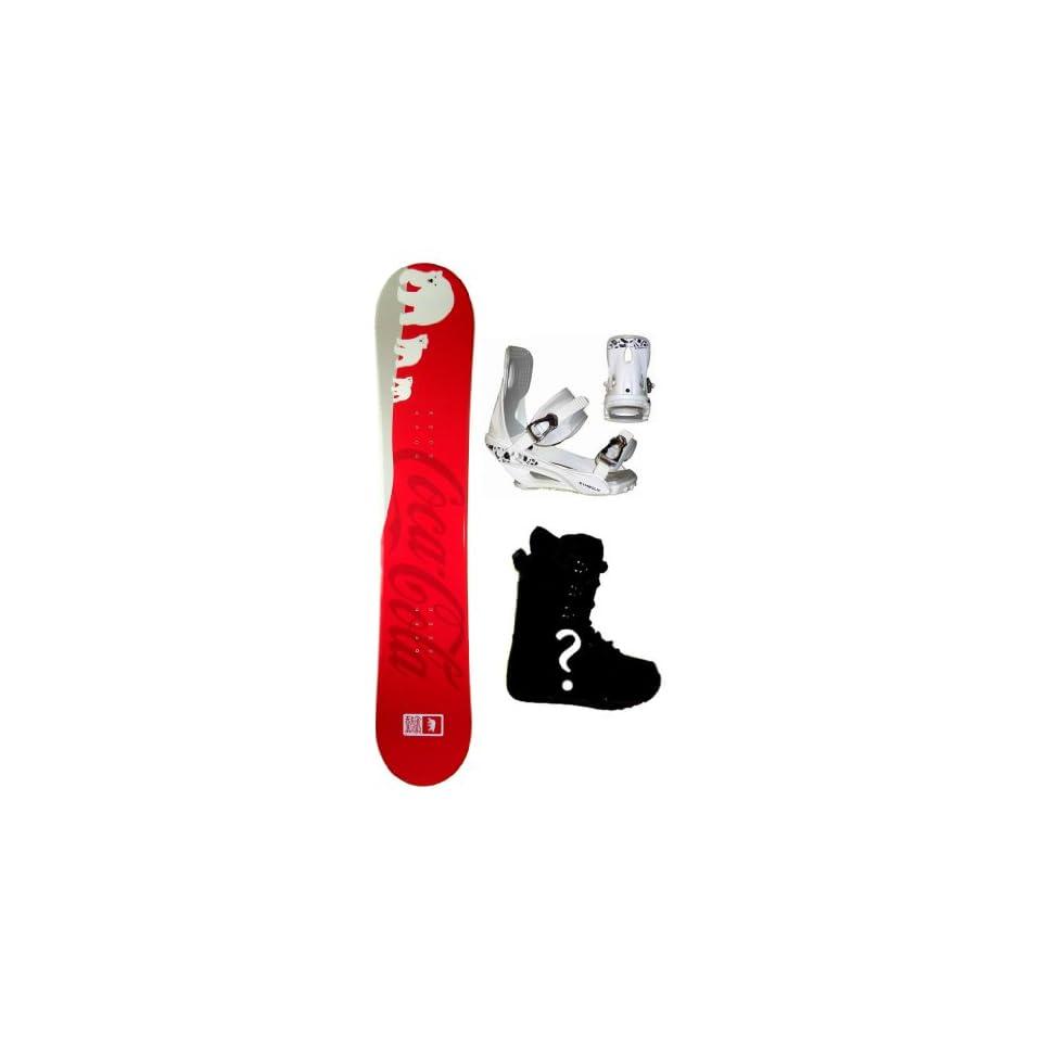 sld 150cm Coke Cola Polar Bear Camber Snowboard MCF