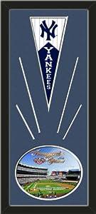 New York Yankees Wool Felt Mini Pennant & 2009 Yankee Stadium Inaugural Season... by Art and More, Davenport, IA