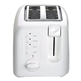 Factory-Reconditioned Cuisinart CPT-120-FR Compact Cool-Touch 2-Slice Toaster, White