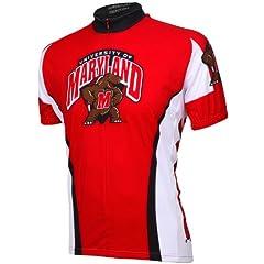 NCAA Yellow Jackets Adrenaline Promotions Maryland Cycling Jersey by Adrenaline Promotions