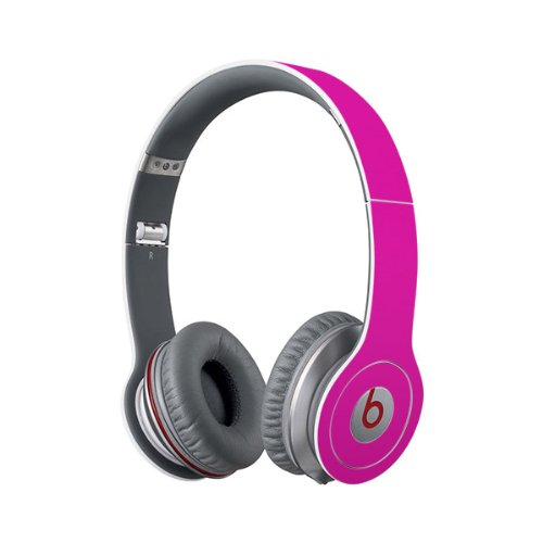 Beats Solo Full Headphone Wrap In Hot Pink (Headphones Not Included)