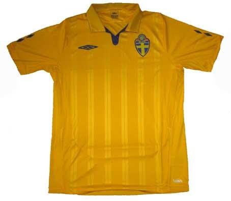 09-10 Schweden Home Trikot-XL