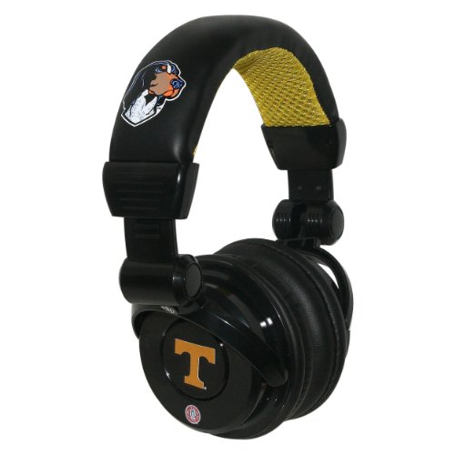 Ncaa Tennessee Volunteers Pro Dj Headphones With Microphone