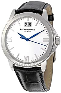 Raymond Weil Men's 5476-ST-00657 Tradition Silver Dial Watch by Raymond Weil