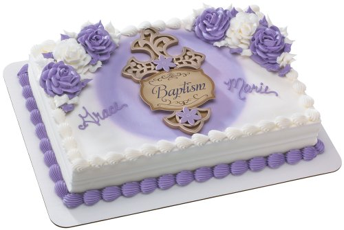 Cross with Faith Messages DecoSet Cake Decoration