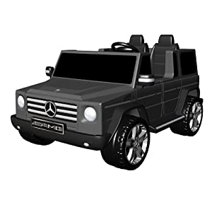 41KKO0JrgtL. SL500 AA300  National Products 12V Black Mercedes Benz G Class Battery Operated Ride on