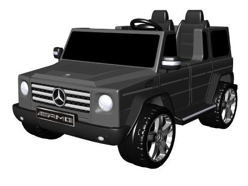 National Products 12V Black Mercedes Benz G-Class Battery Operated Ride-On