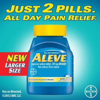 Aleve ® Caplets analgésique antipyrétique, 320