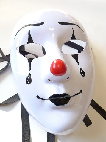 Mask Party Goods Cosplay face it! Clown light