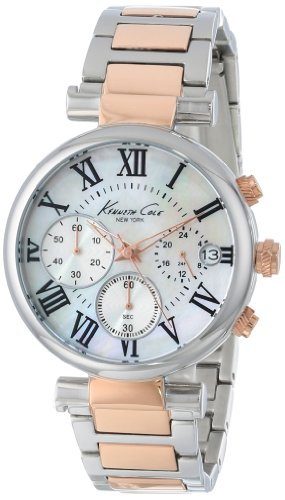 kenneth-cole-new-york-womens-kc4970-stainless-steel-and-rose-gold-bracelet-watch