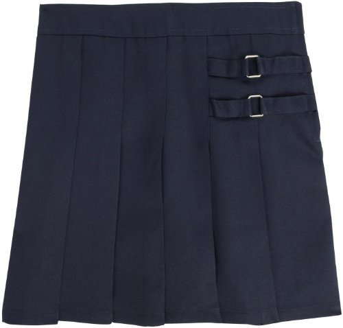French Toast School Uniforms Two Tab Scooter Girls navy 10