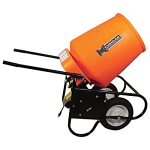 Kushlan Electric Portable Concrete Mixer with 3.5 Cubic Foot DRUM [Misc.]