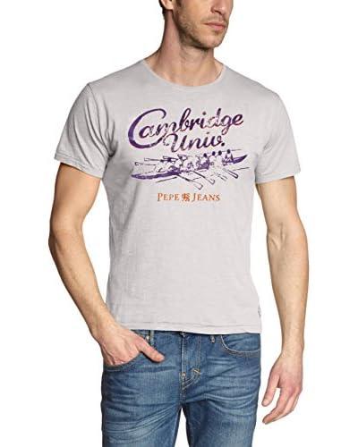 Pepe Jeans London T-Shirt Manica Corta Davy [Grigio Chiaro]