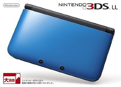 ニンテンドー3DS LL ブルーXブラック