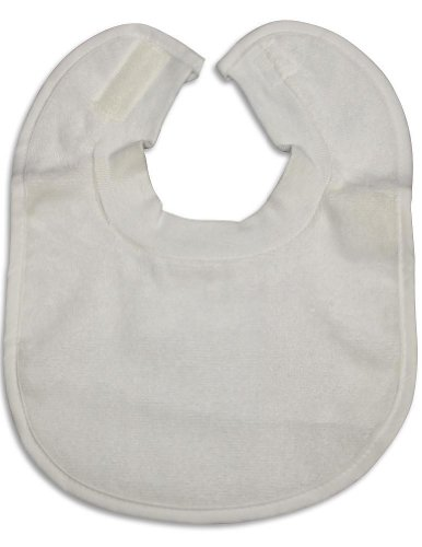Terry Cloth Baby Bibs front-1022509