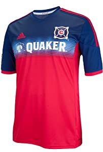 Chicago Fire Adidas MLS Performance Replica Jersey - Red by adidas