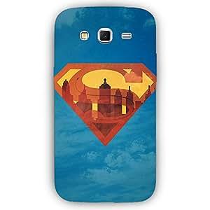 EYP Superheroes Superman Back Cover Case for Samsung Grand 2 (7106)