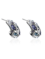 Autograph Scatter Hoop Earrings MADE WITH SWAROVSKI® ELEMENTS