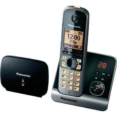 Panasonic KX-TG6761GB schw. (KX-TG6721GB + Repeater)
