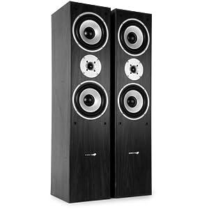 hyundai multicav 3 wege standlautsprecher boxen 500 watt pmpo bassreflex subwoofer paar. Black Bedroom Furniture Sets. Home Design Ideas