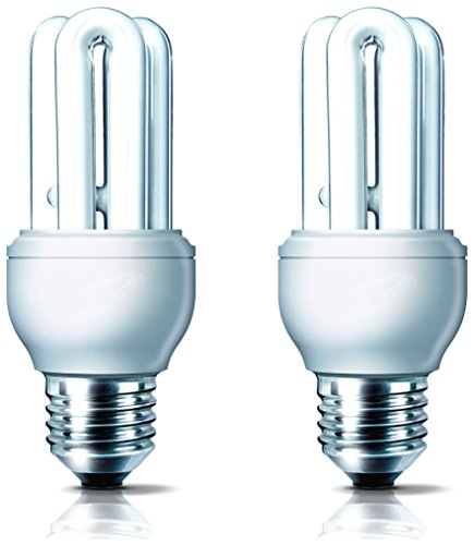 Philips Genie 11 Watt CFL Bulb (Cool Day Light,Pack of 2))