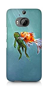 Amez designer printed 3d premium high quality back case cover for HTC One M9+ (A saving breath)