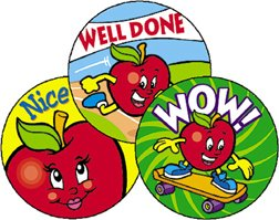 Trend Enterprises Amazing Apples Stinky Stickers (T-83409)