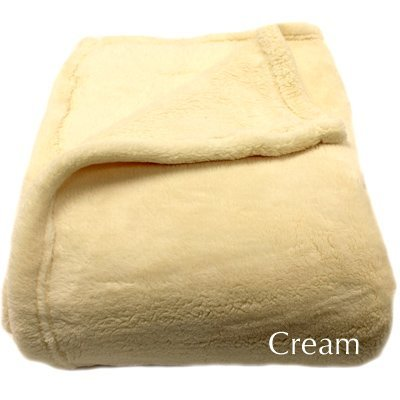 Woven Workz Bobbi Throw, Cream