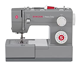 Singer Sewing 4432 Heavy Duty Extra-High Speed Sewing Machine with Metal Frame and Stainless Steel Bedplate