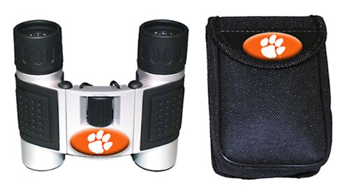 Ncaa Clemson Tigers High Powered Compact Binoculars With Case