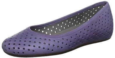 ECCO Women's Owando Perforated Flat,Light Purple,40 EU/9-9.5 M US