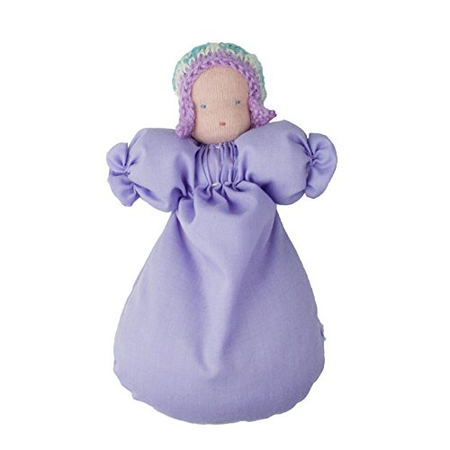 "Camden Rose Waldorf Soft Pocket Baby Doll, 6"", Fuschia front-798868"