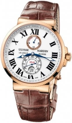 mens-ulysse-nardin-marine-chronometer-18k-rose-gold-43mm-watch-266-67-40