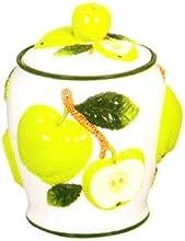 GREEN APPLE 3-Dimensional Cookie Jar NEW