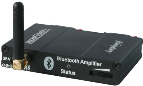Check Out This Bluetooth Audio Receiver/Amplifier - Model 300 Black