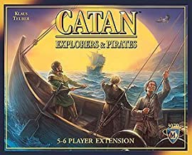 Settlers of Catan: Explorers and Pirates Game Expansion [Office Product]
